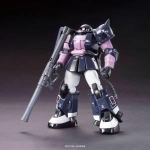 Mobile Suit Gundam - Black Tristar ZAKU II Plastic Model [1/144 HGUC / Bandai]