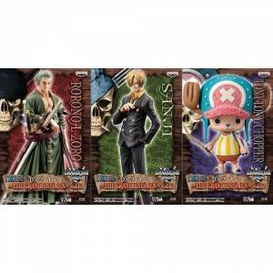 ONE PIECE - THE GRANDLINE MEN VOL.12 CHOPPER & ZORO & SANJI