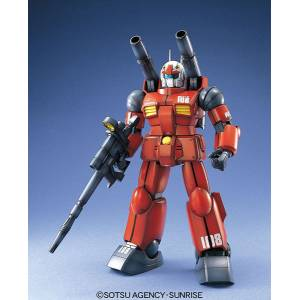 Mobile Suit Gundam 0079 - RX-77-2 Guncannon Plastic Model [1/100 MG / Bandai]