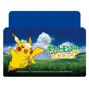 Nintendo Switch Cover / Stand Pokemon Let's Go! Pikachu [Switch]