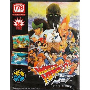 World Heroes 2 Jet [NG AES - Used Good Condition]