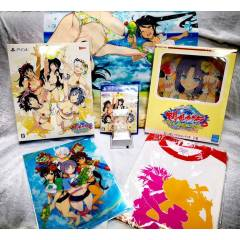Senran Kagura: Peach Beach Splash Sunshine XXX Famitsu DX Pack 3D Crystal Set [PS4]
