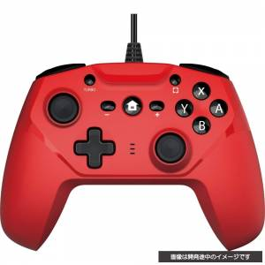 CYBER Gyro controller Wired type (Red) [Switch]