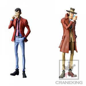 LUPIN THE 3RD PART5 - MASTER STARS PIECE III (Set of 2) [Banpresto]