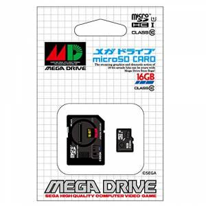 Megadrive 30th Anniversary Micro SDHC card (16GB) + SD adapter set [Goods / Electronics]