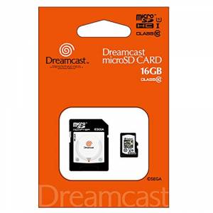 Dreamcast 30th Anniversary Micro SDHC card (16GB) + SD adapter set [Goods / Electronics]