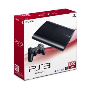 PlayStation 3 Super Slim 500GB Charcoal Black [used]