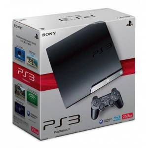 PlayStation 3 Slim 250GB Charcoal Black [occasion]