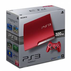 PlayStation 3 Slim 320GB Scarlet Red [used]
