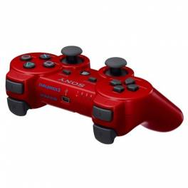 Dual Shock 3 Controller - Deep Red [Used]