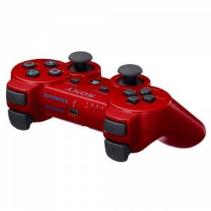 Dual Shock 3 Controller - Deep Red [Occasion]
