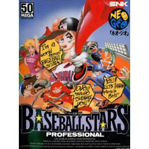 Baseball Stars Professional [NG AES - Used Good Condition]
