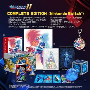 Rockman 11 / Mega Man 11 - Complete Edition e-Capcom Limited (Multi Language) [Switch]