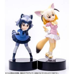 Minimum factory Kemono Friends My Pace Chasers Common Raccoon & Fennec [MAX Factory / PLAMAX MF-29]