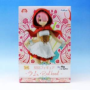 RE:ZERO -STARTING LIFE IN ANOTHER WORLD- SSS FIGURE RAM RED HOOD [FuRyu] [Used]