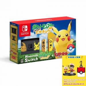 Nintendo Switch Pokemon: Let's Go, Pikachu! Pokemon Center Limited Set [Brand new]