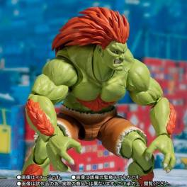 FREE SHIPPING - Street Fighter Series - Blanka Limited Edition [SH Figuarts]