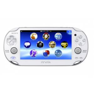 PSVita - Crystal White PlayStation Vita - Wi-fi (PCH-1000 ZA02) [occasion]