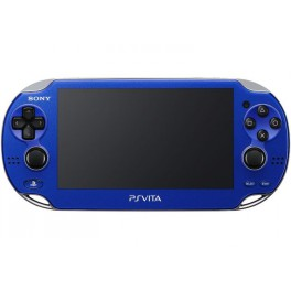 acheter psvita sapphire blue playstation vita wi fi pch 1000 za04 occasion psp import. Black Bedroom Furniture Sets. Home Design Ideas