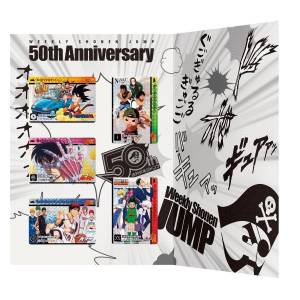 Weekly Shonen Jump 50th Anniversary Premium Carddass Set All Generations Ver. Limited Edition [Trading Cards]