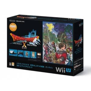 Wii U Black Dragon Quest X Premium Set [brand new]