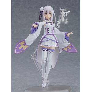 FREE SHIPPING - Re:ZERO -Starting Life in Another World- Emilia [Figma 419]