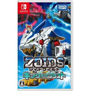 FREE SHIPPING - ZOIDS WILD: KING OF BLAST - Standard Edition [Switch]