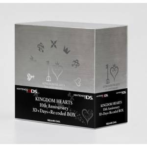 Kingdom Hearts 10th Anniversary 3D+Days+Re:coded BOX [3DS - Used Good Condition]
