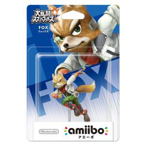FREE SHIPPING - Amiibo Fox - Super Smash Bros. series Ver. - Reissue [Wii U/ SWITCH]