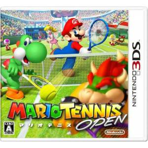 Mario Tennis Open [3DS - Used Good Condition]
