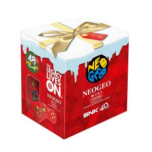 FREE SHIPPING - Neo Geo Mini Christmas Limited Edition [SNK - Brand new]