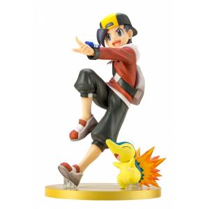 Pokemon Series - Hibiki with Hinoarashi / Gold with Cyndaquil [ARTFX J]