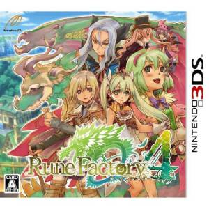 Rune Factory 4 [3DS - Used Good Condition]