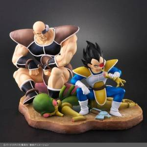 Dragon Ball Allies Vegeta & Nappa Normal Color Limited Edition [Bandai]