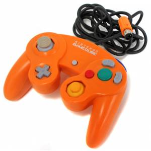 Game Cube Controller - Orange [NGC - used / loose]