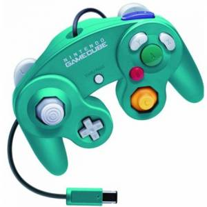 Manette Game Cube - Emerald Blue [NGC - occasion / loose]