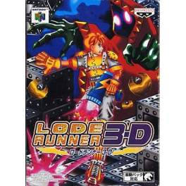Lode Runner 3D [N64 - used good condition]