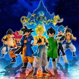 Movie Dragon Ball Super Broly - Goku! Vegeta! Fusion set - Bandai Premium Limited Edition [HG]