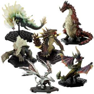 Monster Hunter Standard Model Plus THE BEST - Vol.7,8 - 6 Pack BOX [Capcom Figure Builder]