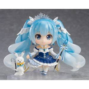 Character Vocal Series 01: Hatsune Miku - Snow Miku: Snow Princess Ver. Limited Edition [Nendoroid 1000]
