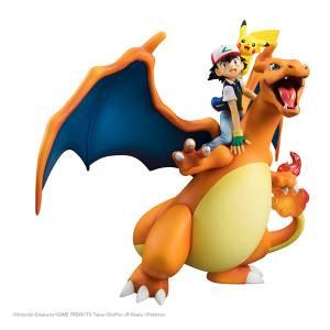 Pokemon - Satoshi /  Ash & Pikachu Lizardon / Charizard Reissue [G.E.M.]