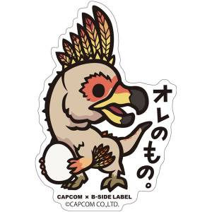 CAPCOM x B-SIDE LABEL Sticker - Monster Hunter: World - It's Mine [Goods]