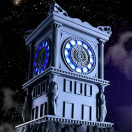FREE SHIPPING - Saint Seiya Myth Cloth - Sacred Fire Clock of Sanctuary Limited Edition [Bandai]