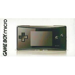 Game Boy Micro Black [Used Good Condition]
