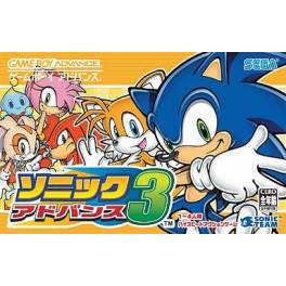 Sonic Advance 3 [GBA - Used Good Condition]