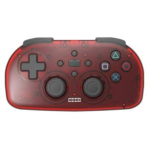 Hori Wireless Controller Light for PlayStation 4 - Clear Red Ver. [PS4]
