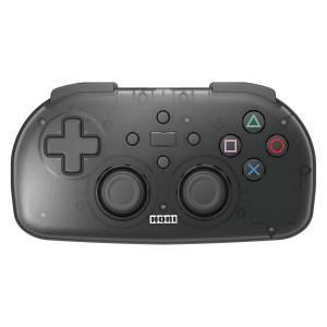 FREE SHIPPING - Hori Wireless Controller Light for PlayStation 4 - Clear Black Ver. [PS4]