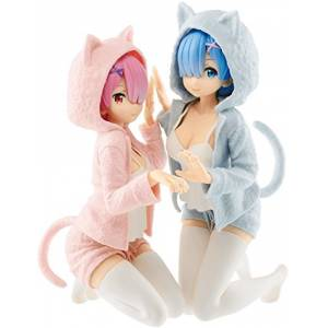 Ichiban Kuji - Re:Zero - Starting Life In Another World - Always With You A prize Rem & Ram  [Banpresto]