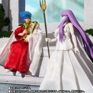 Saint Seiya Myth Cloth - The Sun God Abel & Goddess Athena Shinku no Shounen Limited Set [Bandai] [Used]