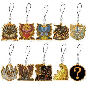 Monster Hunter - Icon Stained Mascot Collection Battle King 10 Pack BOX [Goods]